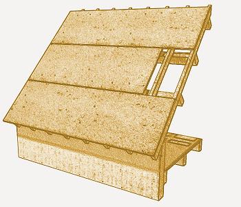 Platelage toiture