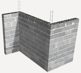 prix en france de m de mur porteur en ma onnerie cha n e de blocs en b ton g n rateur de prix. Black Bedroom Furniture Sets. Home Design Ideas