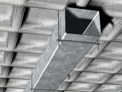 Prix conduit de ventilation rectangulaire